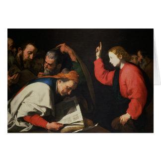 Cartes Le Christ parmi les médecins, c.1630