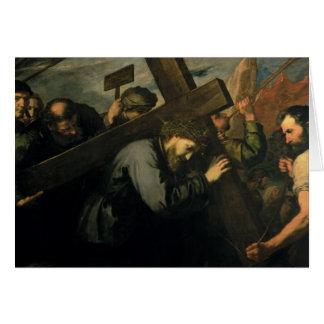 Cartes Le Christ portant la croix, 1635