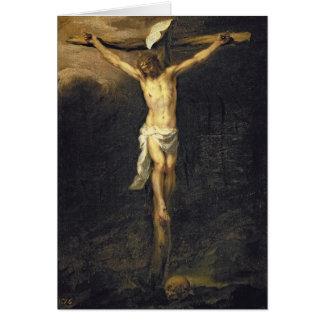 Cartes Le Christ sur la croix, 1672