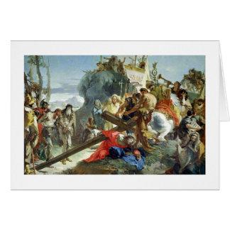 Cartes Le Christ sur la route vers le calvaire, 1749
