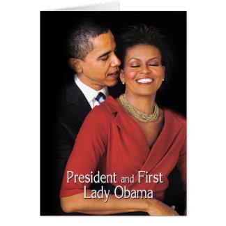 Cartes Le chuchotement (président et première Madame