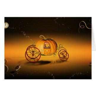 Cartes Le citrouille de Cendrillon