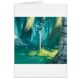 Cartes Le coeur de la forêt