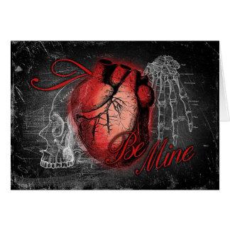Cartes Le coeur gothique soit le mien