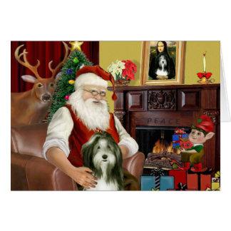 Cartes Le colley barbu de Père Noël (#9)