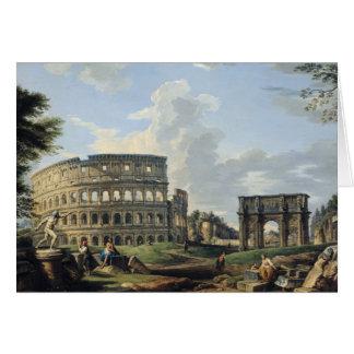 Cartes Le Colosseum et la voûte de Constantine