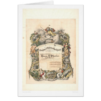 Cartes Le Comité de la vigilance de San Francisco (1825A)