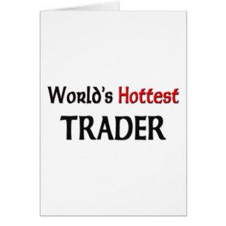 Cartes Le commerçant le plus chaud du monde