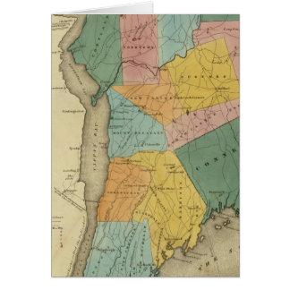 Cartes Le comté de Westchester