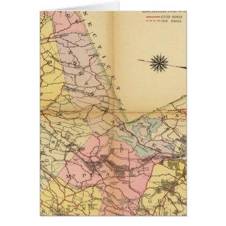 Cartes Le comté de Westchester, New York
