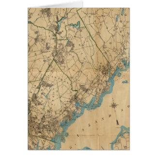 Cartes Le comté de Westchester, New York 2
