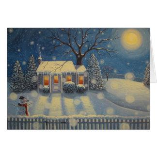 Cartes Le cottage du bonhomme de neige