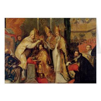 Cartes Le couronnement de l'empereur romain saint de