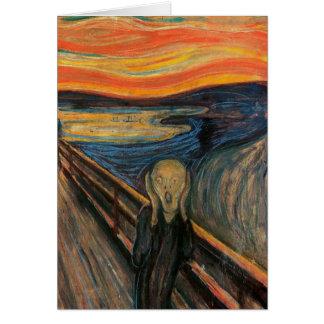 Cartes Le cri perçant par Edvard Munch