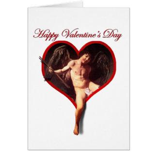 Cartes Le cupidon de Caravaggio pour la Saint-Valentin