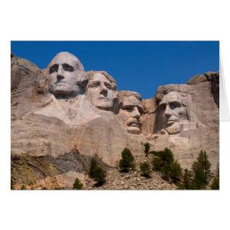 Cartes Le Dakota du Sud, clef de voûte, le mont Rushmore