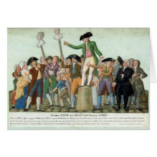 Cartes Le début de la révolution française