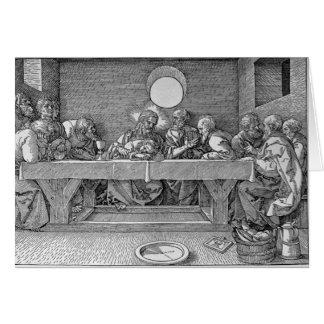 Cartes Le dernier dîner, pub. 1523
