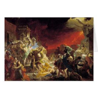 Cartes Le dernier jour de Pompeii