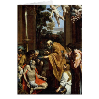 Cartes Le dernier sacrement de St Jerome, 1614