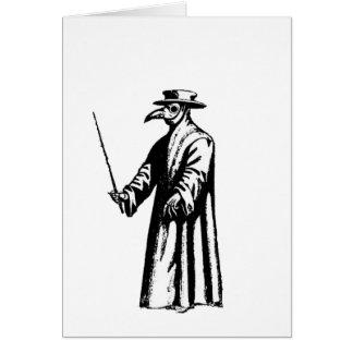Cartes Le docteur de peste