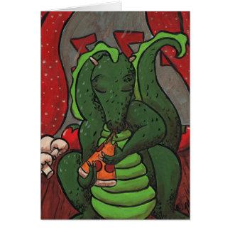 Cartes Le dragon et la pizza