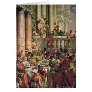Cartes Le festin de mariage chez Cana