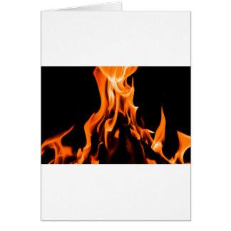 Cartes Le feu abstrait