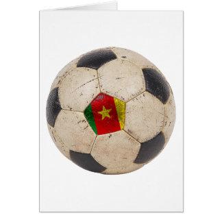 Cartes Le football du Cameroun