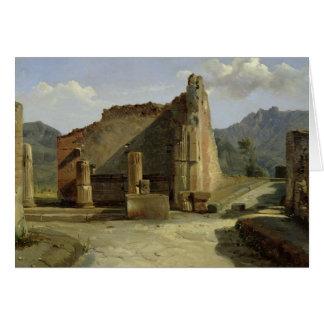 Cartes Le forum de Pompeii