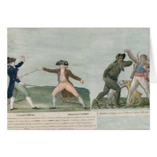 Cartes Le Général Charles Lameth et Charles Eugene