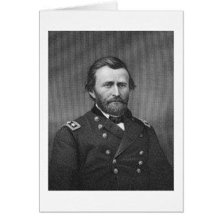 Cartes Le Général Ulysse Simpson Grant, gravé après le DA