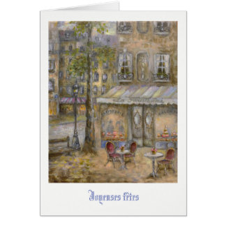 Cartes Le © H Flont de Parisienne   de La de Patisserie