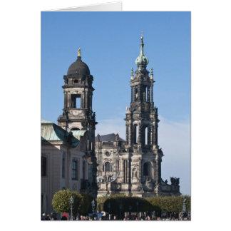 Cartes Le hofkirche (église de la cour) Dresde