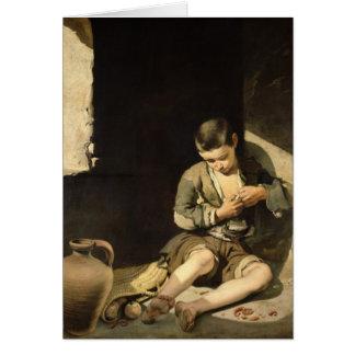 Cartes Le jeune mendiant, c.1650