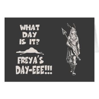 Cartes Le jour de Freya