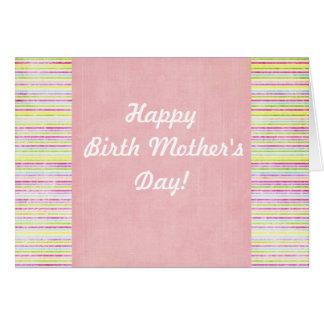 Cartes Le jour de mère biologique heureux !