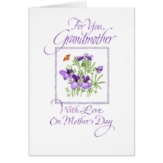 Cartes Le jour de mère de la grand-mère
