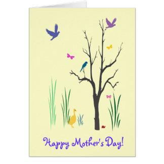 Cartes Le jour de mère de printemps