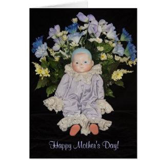 Cartes Le jour de mère gai de coeur