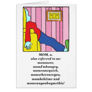 Cartes Le jour de mère/Saint-Valentin heureuse/carte