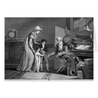 Cartes Le jour de nouvelle année, 1807