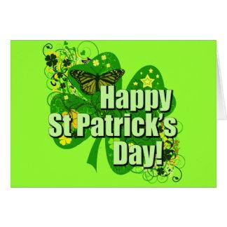 Cartes Le jour de St Patrick heureux