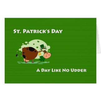 Cartes Le jour de St Patrick, jour d'A n'aiment aucune