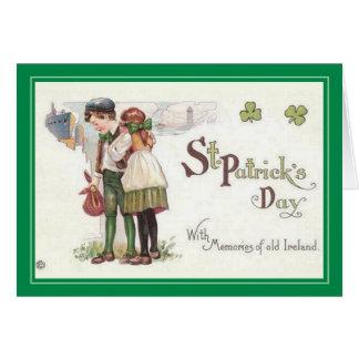 Cartes Le jour vintage de St Patrick