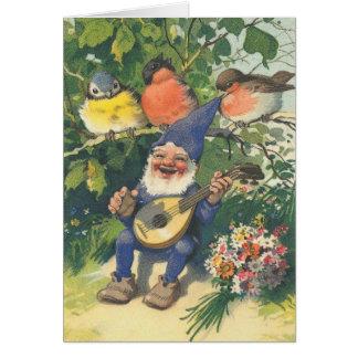 Cartes Le joyeux gnome musical