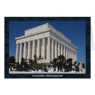 Cartes Le Lincoln Memorial