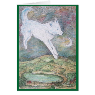 Cartes le loup du ciel