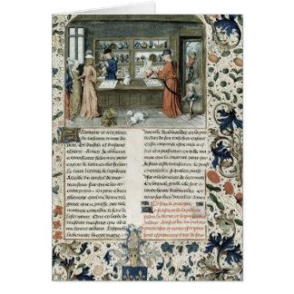 Cartes Le magasin du bijoutier, de Lapidaire de