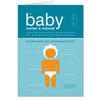 Cartes Le manuel du propriétaire de bébé